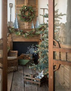 Enhance the natural beauty of your home with earth tones this holiday.