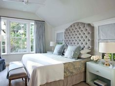 The decorating experts at HGTV.com share 15 tips for creating a restful bedroom retreat with shades of gray.