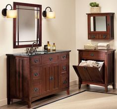 The Artisan Bath Collection combines traditional style with Arts and Crafts detail. HomeDecorators.com