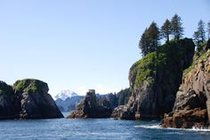 Beautiful Kenai Peninsula and Fjords National Park, Alaska - see our travel blog: www.UnhookNow.com
