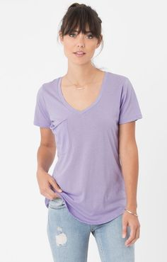 Z Supply Pocket Tee | Orchid