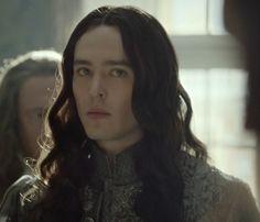 Alex Vlahos as Philippe, duc d'Orleans in the TV series Versailles