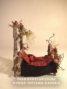 Elves Faeries Gnomes:  #Faery bed.
