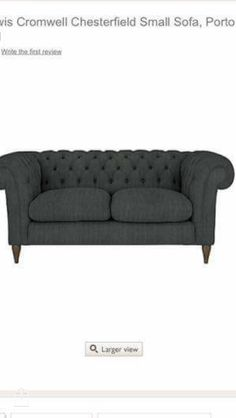 Small Sofa, Couch, Living Room, Furniture, Home Decor, Small Couch, Settee, Sofa, Couches