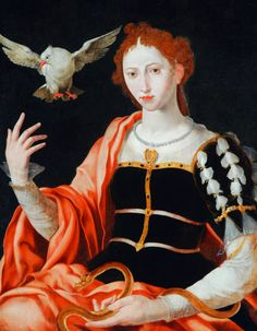 An Allegory of Innocence and Guile, 16th Century.