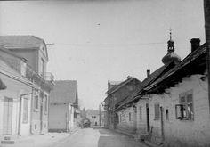 Główna droga do rynku w 1938 roku.