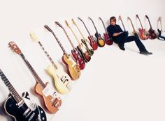 Keith Urban's guitars.  Not really a country fan but gotta love the guitars!!!