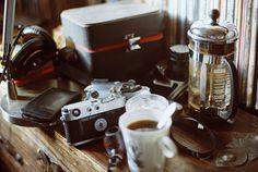 I love coffee and my leica