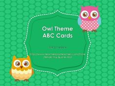 Do you have an owl theme in your classroom