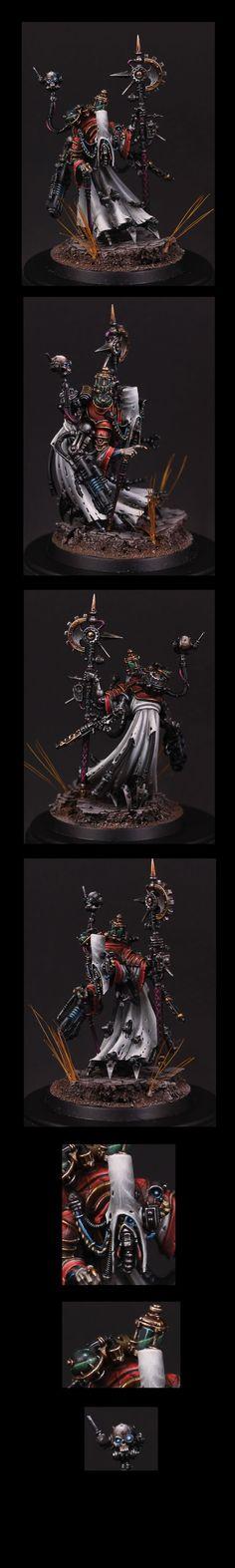 40k - Tech Priest Dominus by FrankenNerd