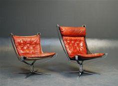 Falconstol av Sigurd Resell for Vatne møbler