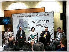 WCIT 2017 em Taiwan para Proporcionar um Estilo de Vida de Conveniência Feito pelas TIC  Apelidado como os Jogos Olímpicos da indústria das TIC o Congresso Mundial de Tecnologia da Informação (WCIT) será apresentado por Taiwan no próximo ano.  Ms. Yvonne Chiu dá as boas vindasa todos que irão ao WCIT 2017.  Anunciando esta notícia na Conferência Internacional de Imprensa Ms. Yvonne Chiu presidente da Information Industry Service Association of ROC (CISA) e pelo presidente recém-eleito da…