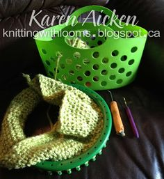 Knitting With Looms: Knifty Knitter