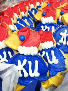 Jayhawk cookies :)