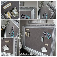 I finally finished mypin board!!!!   It turned out better than I expected.   Yeah!!   If you follow me on Facebook you know I've had a...