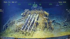 Paul G. Allen Expedition Discovers the Sunken USS Lexington and Her Aircraft Uss Lexington, 500 Miles, Amelia Earhart, Interesting History, Aircraft Carrier, War Machine, Military History, World War Two, Pitch