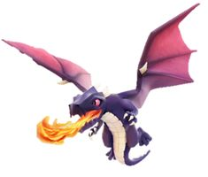 Clash of Clans - Dragon