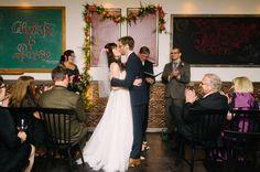 Star Trek wedding on @offbeatbride