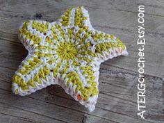 Etsy の Crochet pattern STARFISH by ATERGcrochet by ATERGcrochet