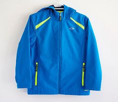 C9-by-Champion-Womens-Hiking-Running-Hooded-Jacket-with-Zippered-Pockets-Blue