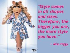 miss piggy sayings Miss Piggy Meme, Miss Piggy Quotes, Kermit And Miss Piggy, Kermit The Frog, Kermit Face, Comedy Clips, Jim Henson, Badass Women, Beautiful Mind