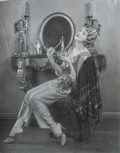 Thalia Barbarova, 1920s by Gatochy, via Flickr - sezy lingerie, what stores sell lingerie, white lingerie *ad