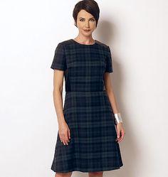 new Lisette pattern for Butterick B6244, Misses'/Women's Coat and Dress