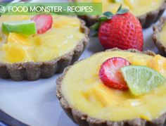 be healthy-page: Mango Lime Tartlet