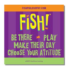 Gotta love that FISH! Philosophy (but if any man tries to woo me using yogurt and fish and propose to me with a ring inside a chopped off fish head, it's over)
