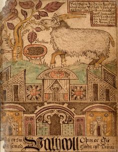 """asatru-ingwaz: """" Heiðrún Heiðrún is a goat in Norse mythology, which consumes the foliage of the tree Læraðr and produces mead for the einherjar. She is described in the Poetic Edda and Prose Edda. Viking Life, Medieval Life, Viking Culture, Celtic Mythology, Old Norse, Norse Vikings, Ancient Vikings, Tribute, Asatru"""