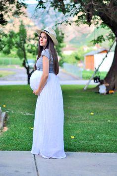 Minhas alternativas para me vestir na gravidez