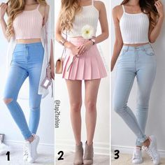 Fashion in 2019 fashion outfits, outfits, cute outfits. Teenage Outfits, Teen Fashion Outfits, Preppy Outfits, Girly Outfits, Cute Summer Outfits, Cute Fashion, Outfits For Teens, Dress Outfits, Fall Outfits