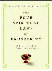 What we love about the book, The Four Spiritual Laws of Prosperity, is that it is extremely simple and straightforward and that it is a truly personal account of Edwene Gaines' life and how by following some straightforward and simple guidelines she has attracted prosperity into her life. She also doesn't just see Prosperity as being financial abundance but also abundance in all areas; relationships, personal growth, achieving your dreams and following your passions. Read our full review on the Conscious Divas website here: http://www.consciousdivas.com/julia-king-blog/the-four-spiritual-laws-of-prosperity-%E2%80%93-edwene-gaines
