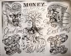 boog tattoo flash - Google Search
