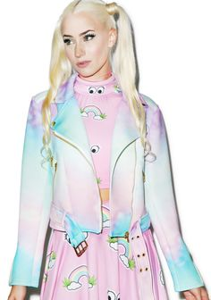 🌈 Kawaii Clothing & Japanese Fashion with Our Doll Coco Harajuku Fashion, Kawaii Fashion, Pastel Jacket, Cool Outfits, Fashion Outfits, Scene Outfits, Pink Outfits, Hipster Looks, Pastel Fashion