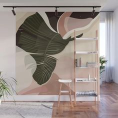 Design your everyday with removable digital wall murals you'll love. Art Et Design, Wall Art Designs, Wall Design, Bedroom Murals, Bedroom Decor, Wall Decor, Mural Art, Wall Murals, Digital Wall