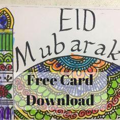 ILMA Education: Free Eid Masjid Card Download