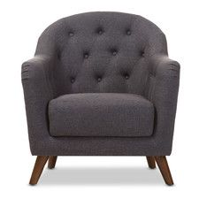 Christopher Upholstered Club Chair