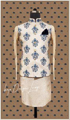 Mens Wedding Wear Indian, Vest For Men Wedding, Wedding Dresses Men Indian, Indian Groom Wear, Wedding Dress Men, Indian Wear, Mens Kurta Designs, Indian Men Fashion, Mens Fashion Wear