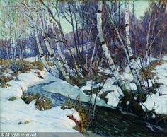 Aldro Thompson Hibbard (1886-1972):  Winter Landscape