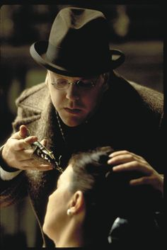 Kiefer Sutherland and Rosemary Traynor in Dark City Diesel, Dr Daniel, Lovecraftian Horror, Kiefer Sutherland, World Of Tomorrow, Dark City, Fantasy Films, Punk, Love At First Sight