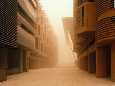 """French photographer <a href=""""http://www.etiennemalapert.com/"""" target=""""_blank"""">Etienne Malapert</a> first traveled to the city of Masdar in 2014, and returned a year later. He describes his experience photographing the 'city of possibilities: """"When I went to Masdar, there were still very few images of the city out there. I did a lot of research but it was still difficult to find pictures. So I saw some of the buildings of course, but I didn't reall..."""