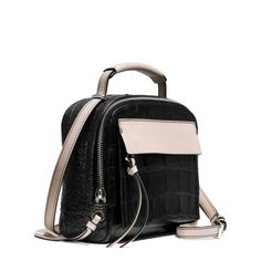 THE PERFECT COAH BAG  Coach :: BLEECKER PINNACLE CROSSBODY IN MATTE CROC EMBOSSED LEATHER @Origami Owl - Brandy Lyda, Independent Designer