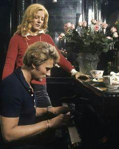 Johnny Hallyday et Sylvie Vartan.