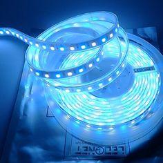 LTRGBW DC 24V 360LEDs / spool 5m RGB + blanc froid (6500k-7000K) 5050 SMD RGBW Etanche bande LED en silicone chemisage IP67 pour soiršŠe de…