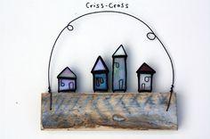 Wood + Glass - Glass Art