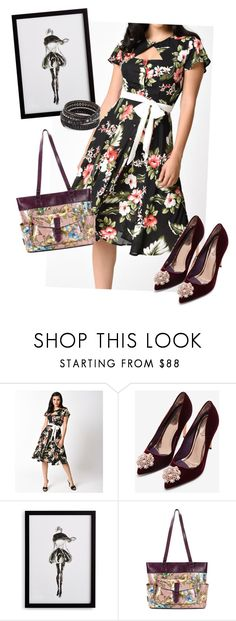 """""""dress"""" by masayuki4499 ❤ liked on Polyvore featuring Ted Baker, Frontgate, Patricia Nash and Chan Luu"""