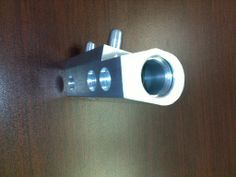 Side view of an #Extruded and #Machined Block #manufactured by TFG USA. Visit http://www.tfgusa.com/ to learn more!