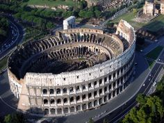 Colosseum in Rome, Italy. What an architecture wonder it is. It was ahead of it's time.
