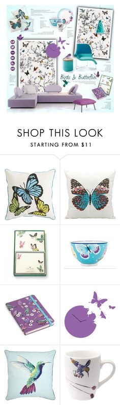 """Birds & Butterflies"" by nyrvelli on Polyvore"
